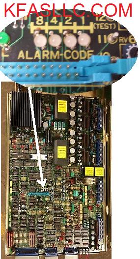 Fanuc AC Spindle A06B-6044 Alarm List